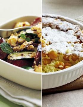 Macarons à la figue et foie gras pour 4 personnes