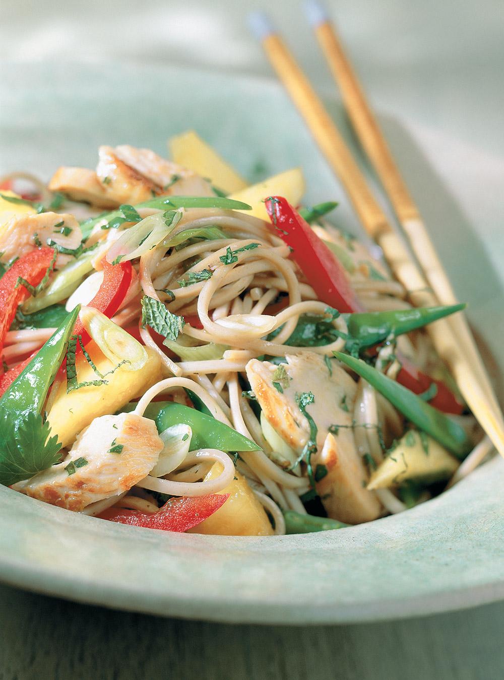 Salade de poulet thaï | ricardo
