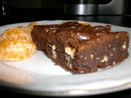 Recette de brownie aux chocolats noir et blanc