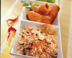 Recette riz cantonnais aux nems