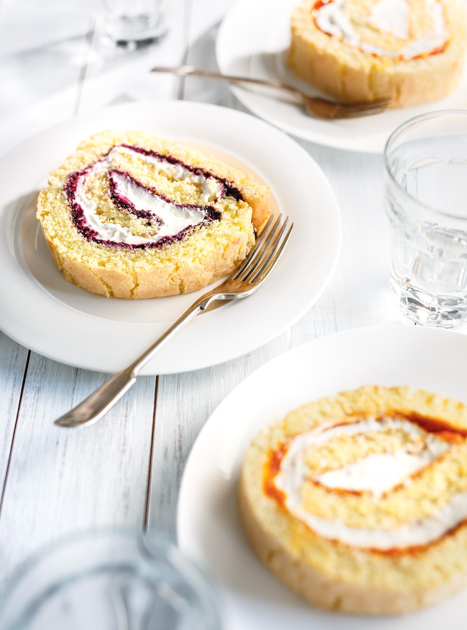 Gâteau roulé aux petits fruits | ricardo