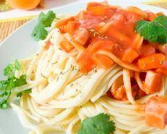 Recette pâtes aux carottes