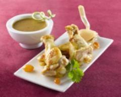 Recette ailerons de poulet façon tajine citron vert et ail confit