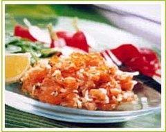 Recette tartare de truite à la coriandre