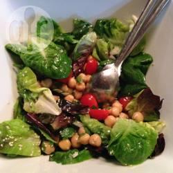 Recette salade de pois chiches aux saveurs marocaines – toutes ...