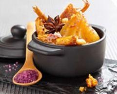 Recette mini cocottes de poires au pain d'épices