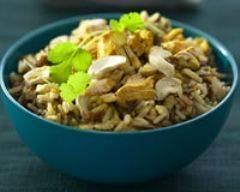 Recette riz et poulet au curry