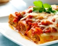 Recette cannellonis au thon et à la tomate