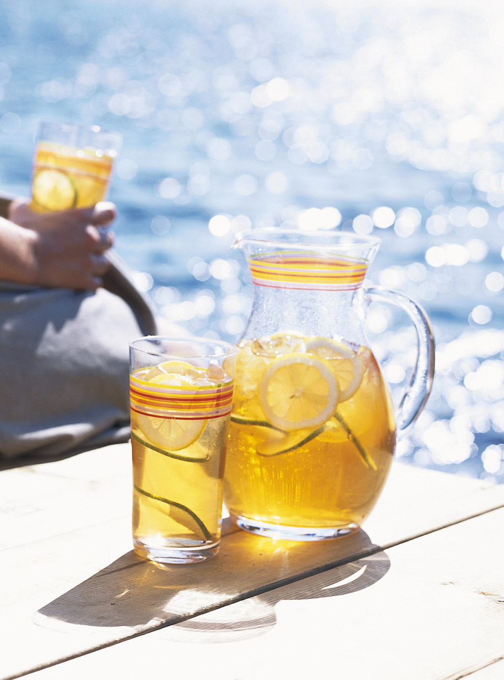 Thé vert glacé à la lime | ricardo