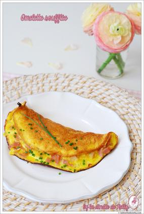 Recette omelette soufflée (plat oeuf)