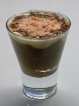 Recette de tiramisu au chocolat en verrine