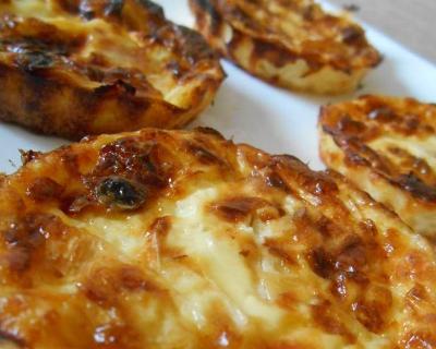 Recette mini quiches sans pâte saumon fumé & poireau