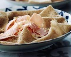 Recette galettes de sarrasin jambon fromage