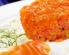 Recette tartare de saumon cerebros