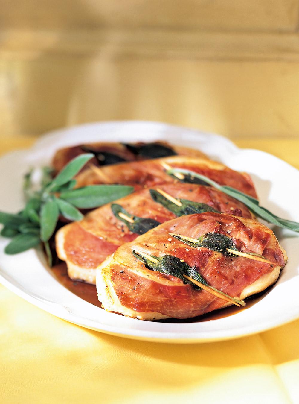 Saltimbocca de poulet | italie | ricardo