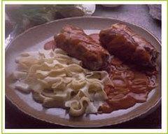 Recette paupiettes de porc aux pruneaux