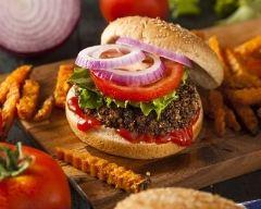Recette burger au quinoa