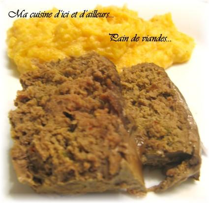 Recette de pain de viande, oignons et herbes de provence