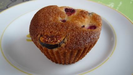 Recette de muffins aux framboises et figues