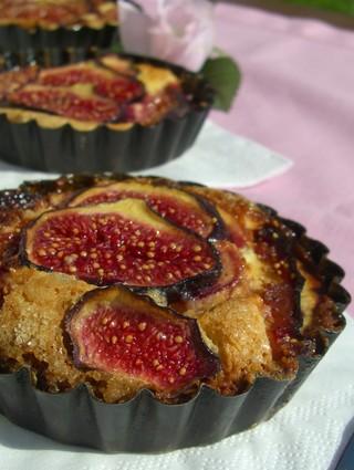 Recette de tartelettes aux figues à la crème d'amande
