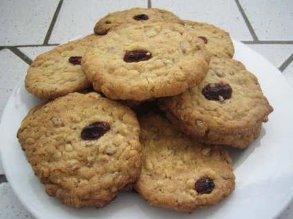 Recette de cookies au muesli