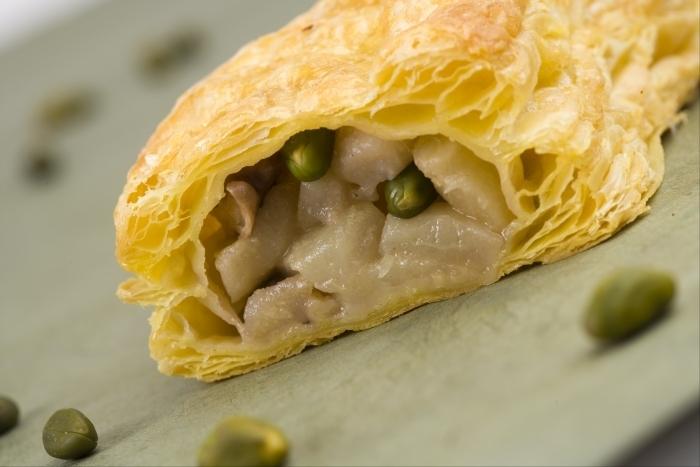 Recette de dartois aux poires, noix et pistaches facile et rapide