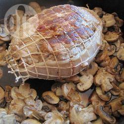Recette rôti de veau aux champignons – toutes les recettes ...