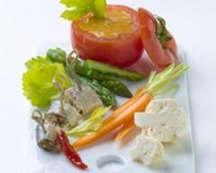 Recette tomates farcies de poisson