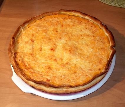 Recette de tarte au thon et à la carotte