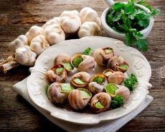 Recette escargots à l'ail et aux échalotes