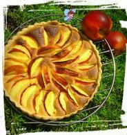 Recette de tarte frangipane à la nectarine