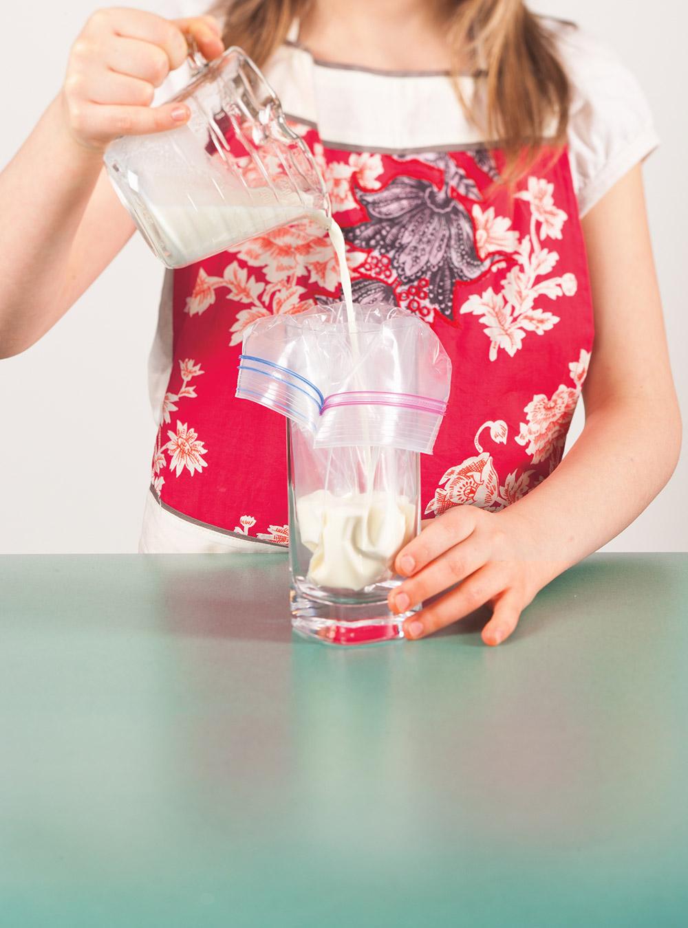Crème glacée molle maison (dans un ziploc) | ricardo