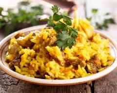 Recette curry de veau à l'indienne