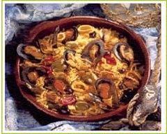 Recette paëlla de moules à la catalane
