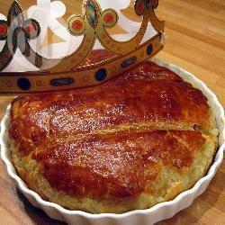 Recette galette frangipane classique à la crème pâtissière – toutes ...