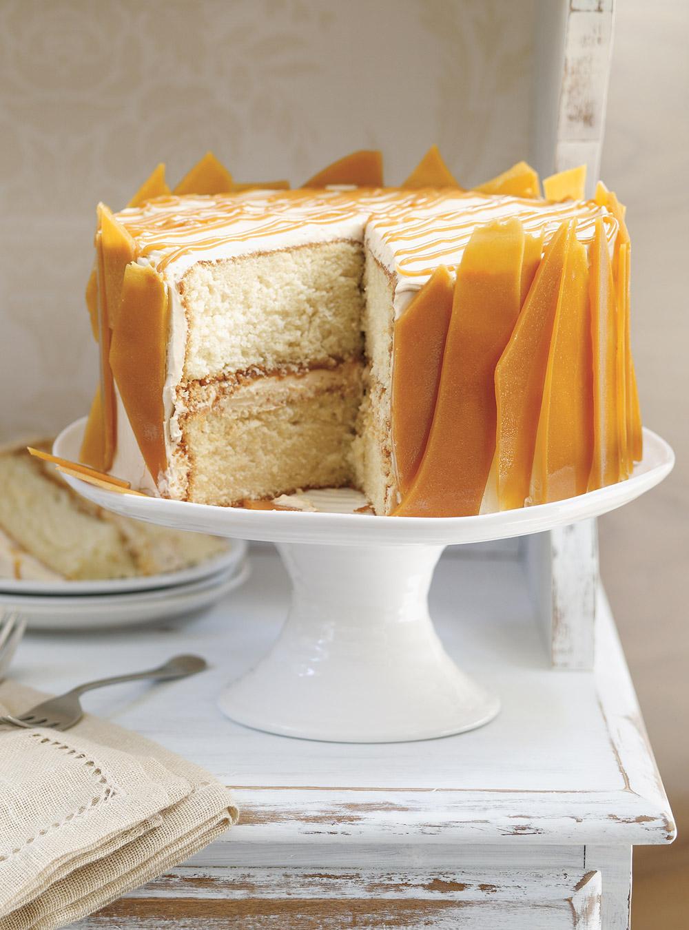 Gâteau triple caramel | ricardo