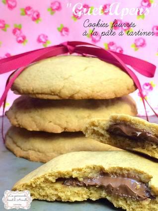 Recette de cookies fourrés à la pâte tartiner