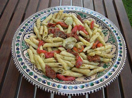 Recette de salade de pâtes au pistou