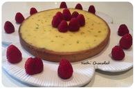 Recette de tarte au citron vert et chocolat blanc