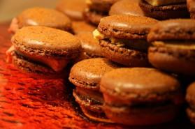 Macarons au foie gras pour 8 personnes