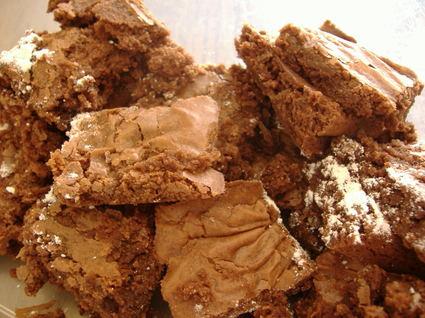 Recette de brownies fondants au chocolat