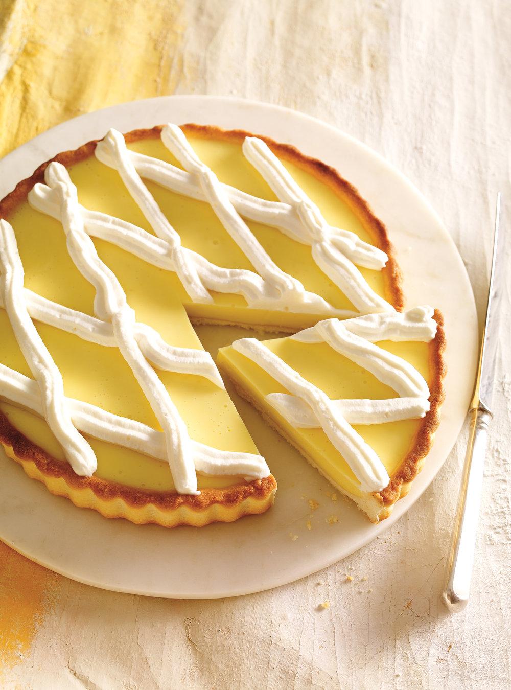 Tarte au citron sans oeufs | ricardo