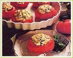 Recette tomates farcies au chèvre