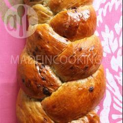 Recette brioche aux pépites de chocolat de made in cooking ...