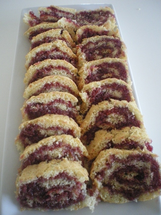 Gâteau roulé à la confiture ultra simple