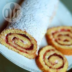 Recette biscuit roulé à la confiture de cerises – toutes les recettes ...