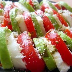 Recette salade italienne tricolore – toutes les recettes allrecipes