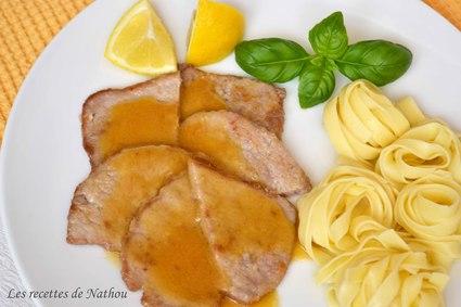 Recette escalopes de veau au citron (scaloppine al limone)