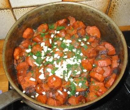 Recette de carottes caramélisées