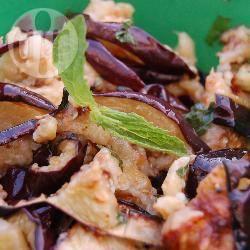 Recette salade d'aubergines grillées à la menthe – toutes les ...